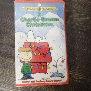 Paramount Pictures A Charlie Brown Christmas Tape